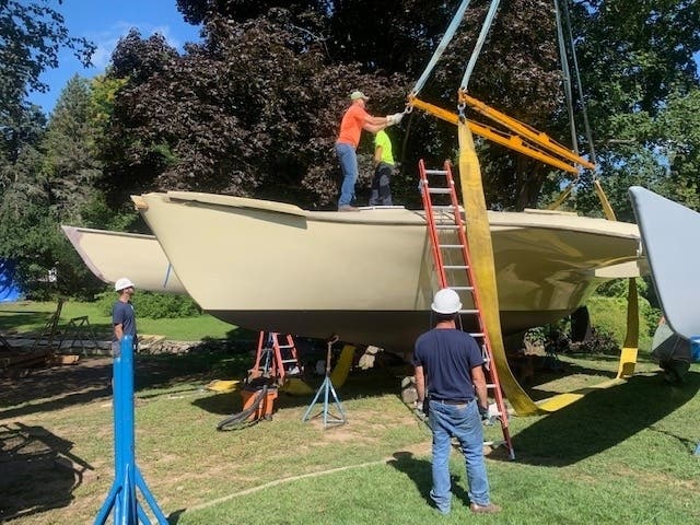 After 35 Years, Peabody Man's Boat Heading For Water