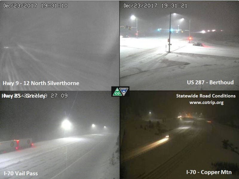 I-70 Blizzard: Chain Laws In Effect, Dangerous Driving UPDATE