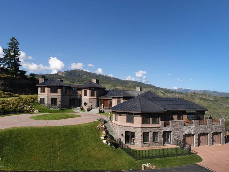 $50M Aspen Luxury Ranch With Private Ski Run WOW House: Ski In, Ski Out Of  This Luxury Aspen Property On 65 Acres With Separate Caretaker Home.