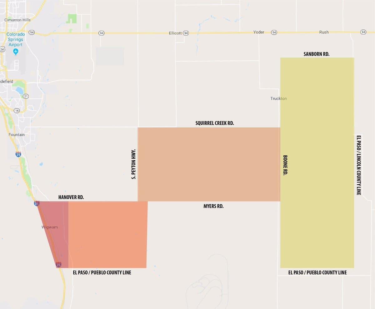 El Paso County Wildfires: 10 Buildings Destroyed | Colorado