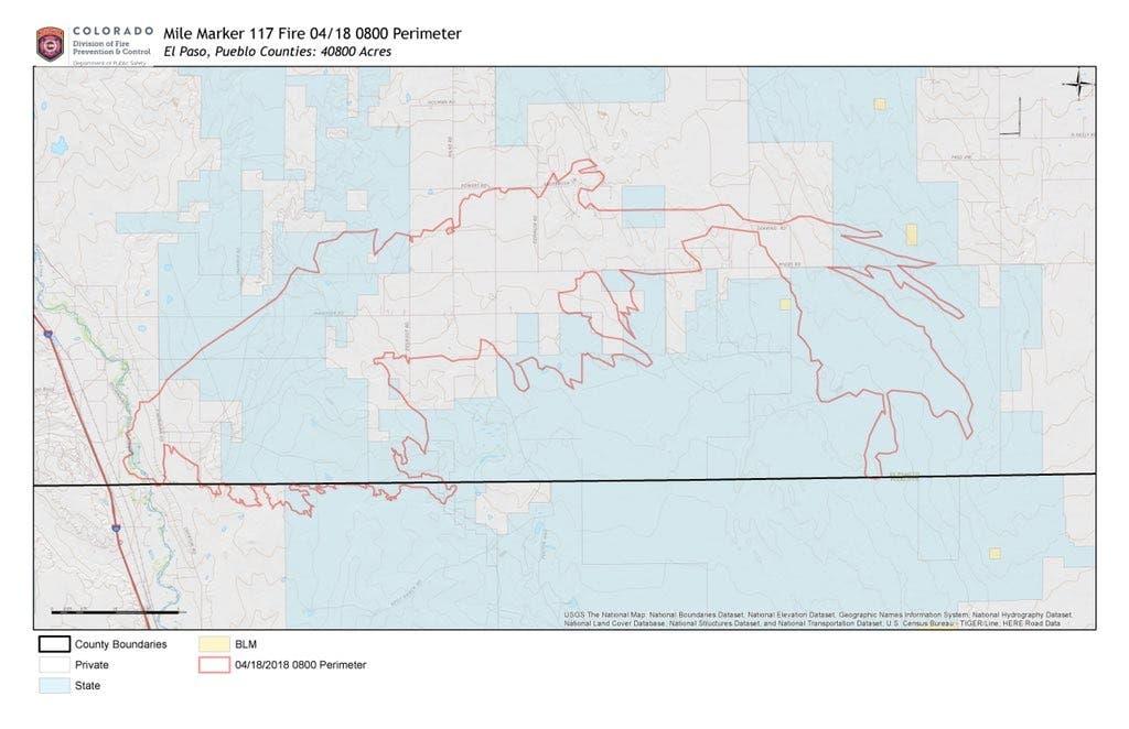 Wildfire Rages In El Paso, Pueblo Counties | Colorado