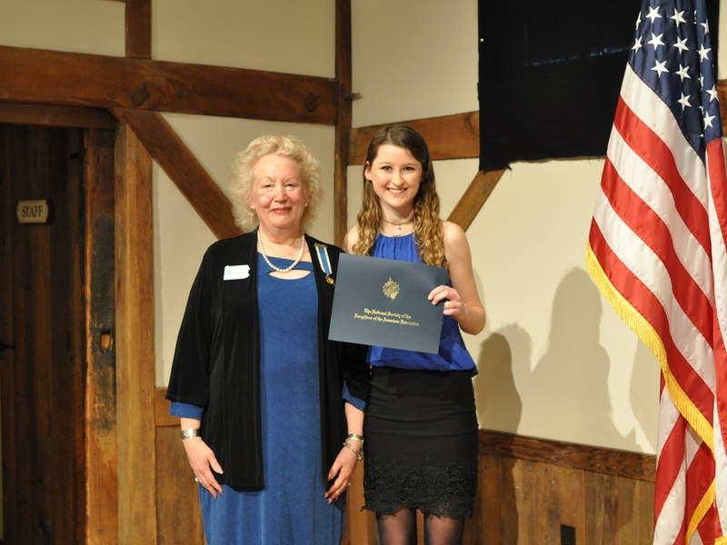 pennsbury high student receives dar good citizens award yardley