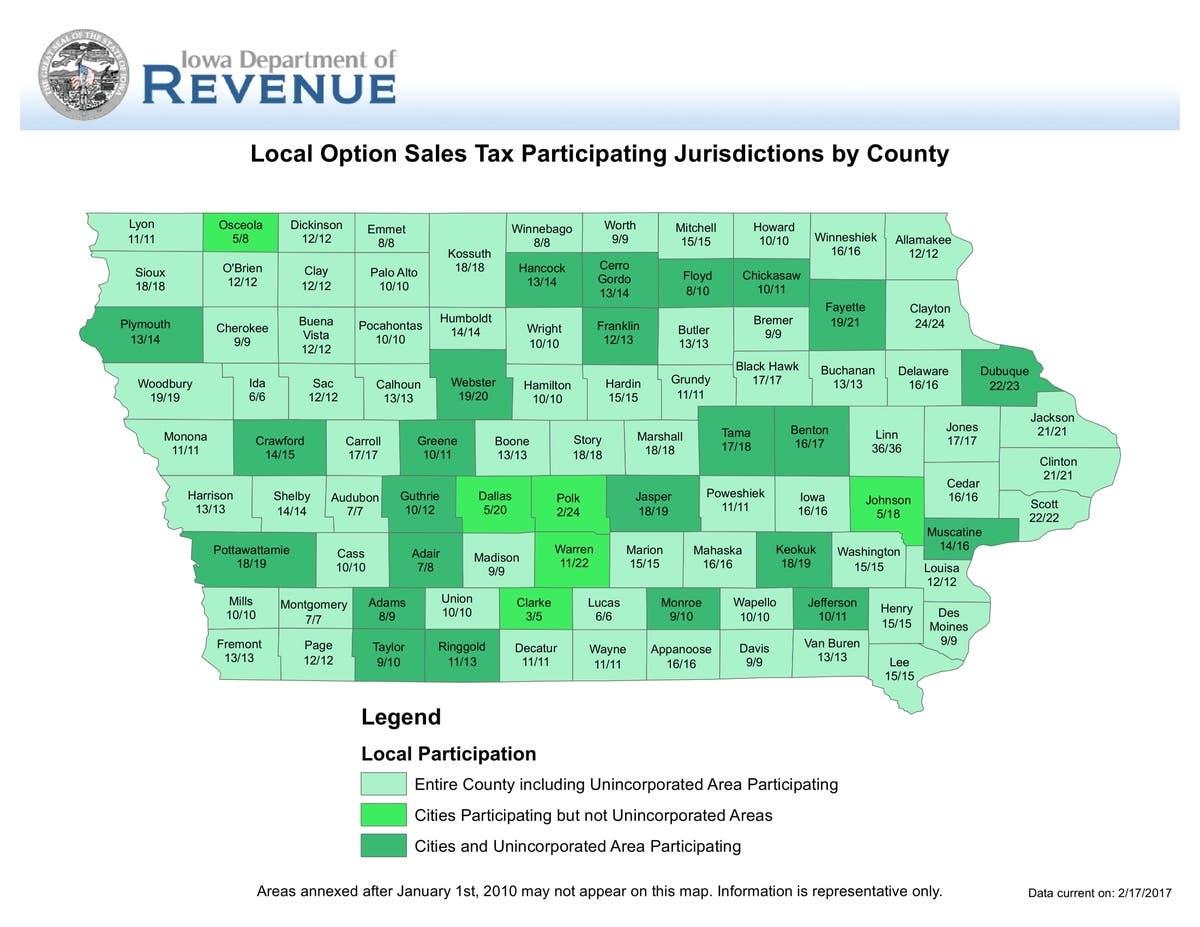 Dallas Sales Tax >> Dallas County Residents Face Sales Tax Vote West Des