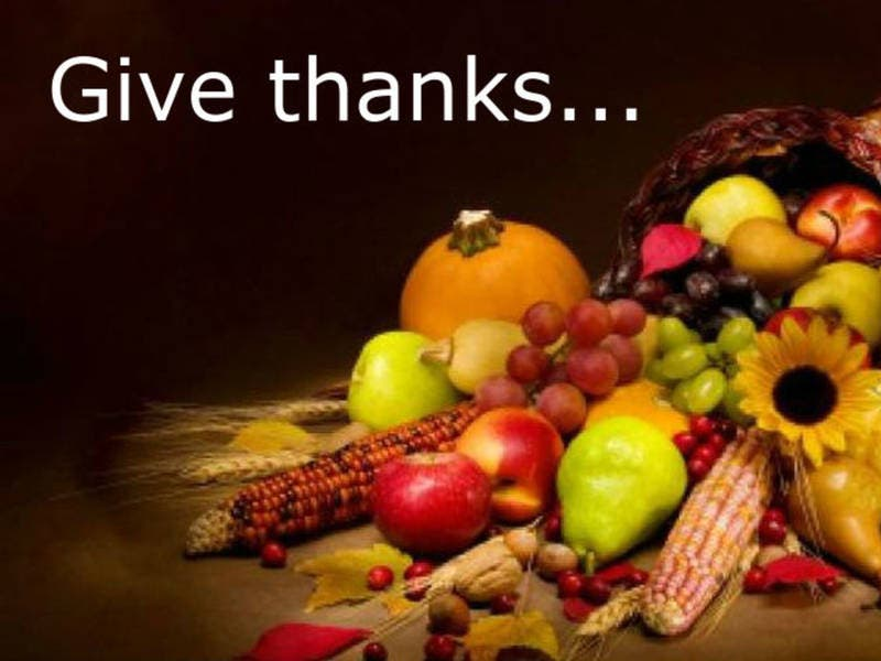 Thanksgiving Day Community Prayer Service 9am