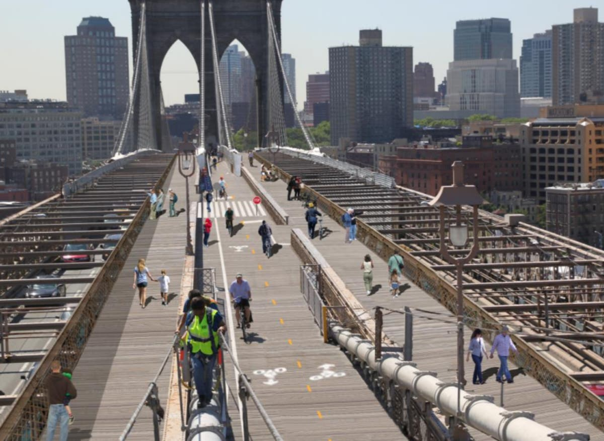 Brooklyn Bridge Promenade May Get Expansion, City Says | Brooklyn ...