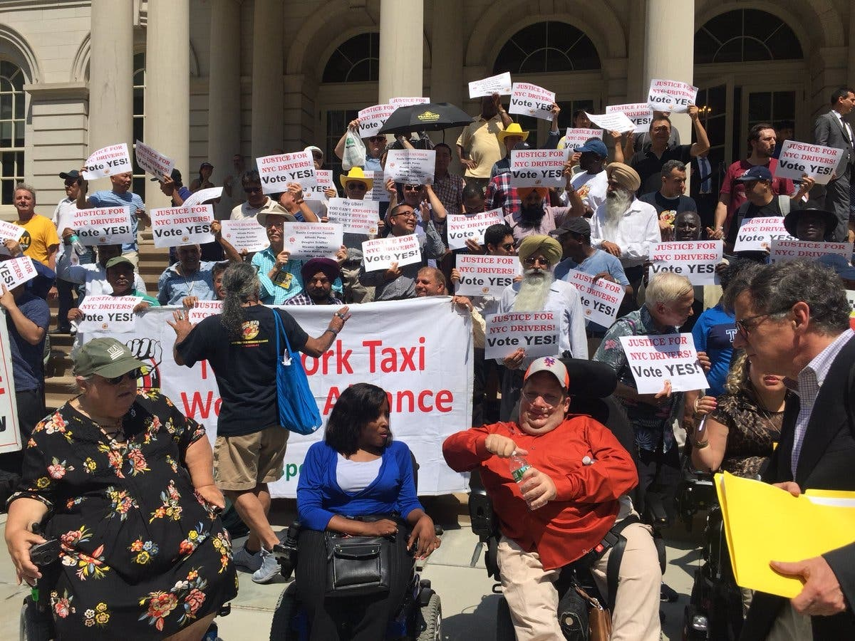Uber, Lyft Cap Passes As NYC Becomes First City To Limit E
