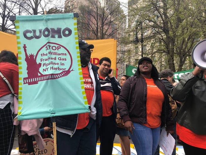 Walk The Talk And Block NYC Pipeline, Activists Tell Cuomo