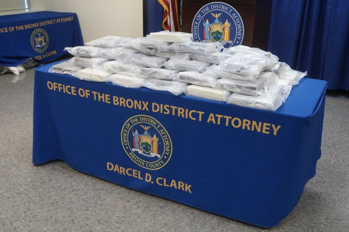 Massive NYC Drug Bust Scores $3M Worth Of Cocaine, Officials Say
