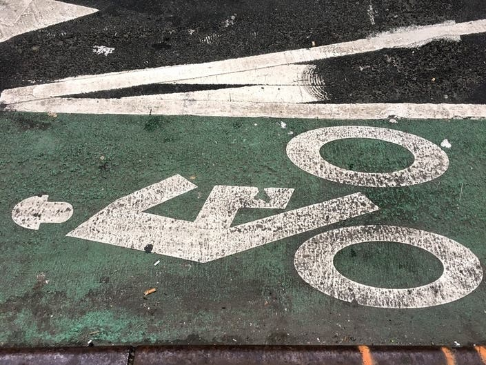Tickets For Bike Lane Blocking Drop As Cyclist Deaths Spike: Data