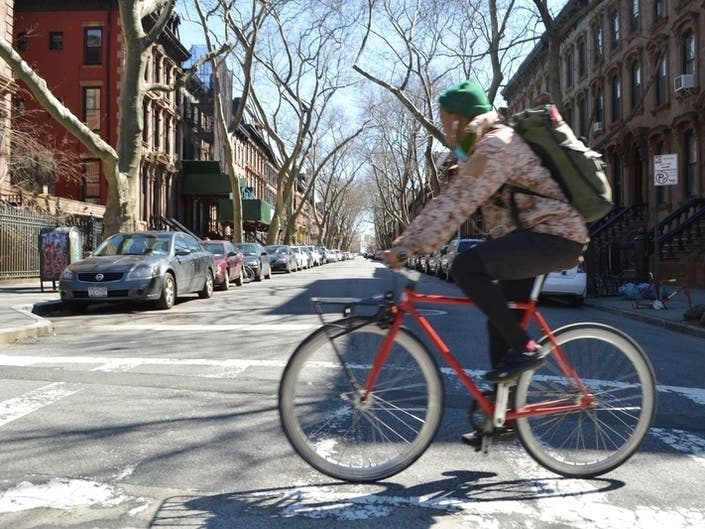 Half Of NYC Car Trips Could Be Made On Two Wheels, Study Shows