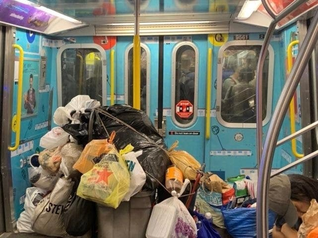 Union Offers Cash For Photos Of Trash-Filled Subway Trains