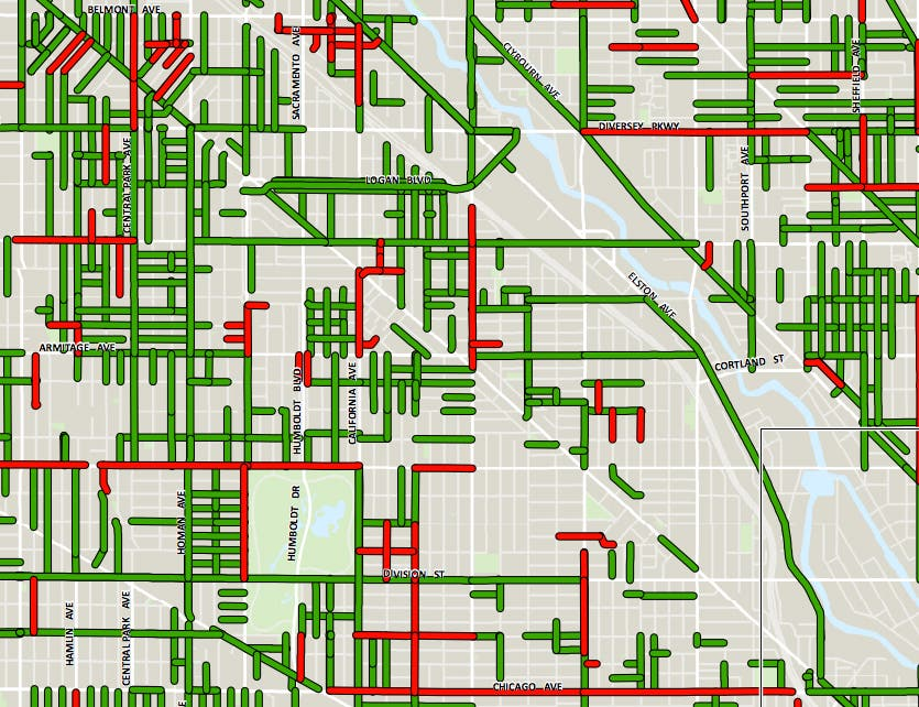 Wicker Park Street Repaving Map 2018 Bucktown Il Patch