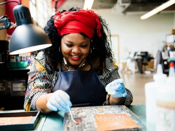 West Town Graffiti Art Jewelry Pop Up To Benefit Women In Need