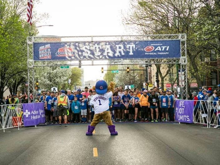Race To Wrigley: Registration, Fundraising, Swag