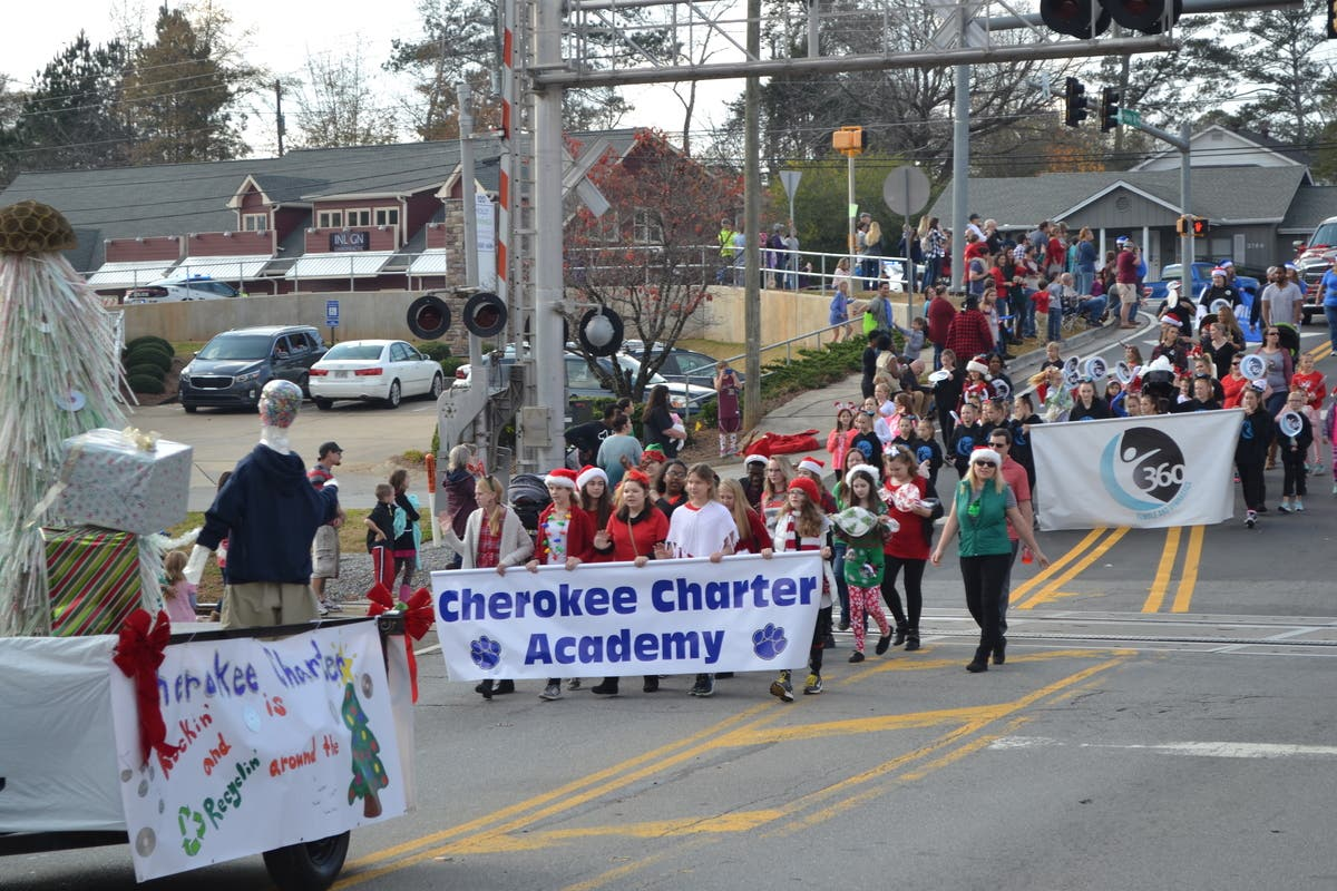 Holly Springs Ms Christmas Parade For 2020 Cherokee Charter Participates in Holly Springs Christmas Parade