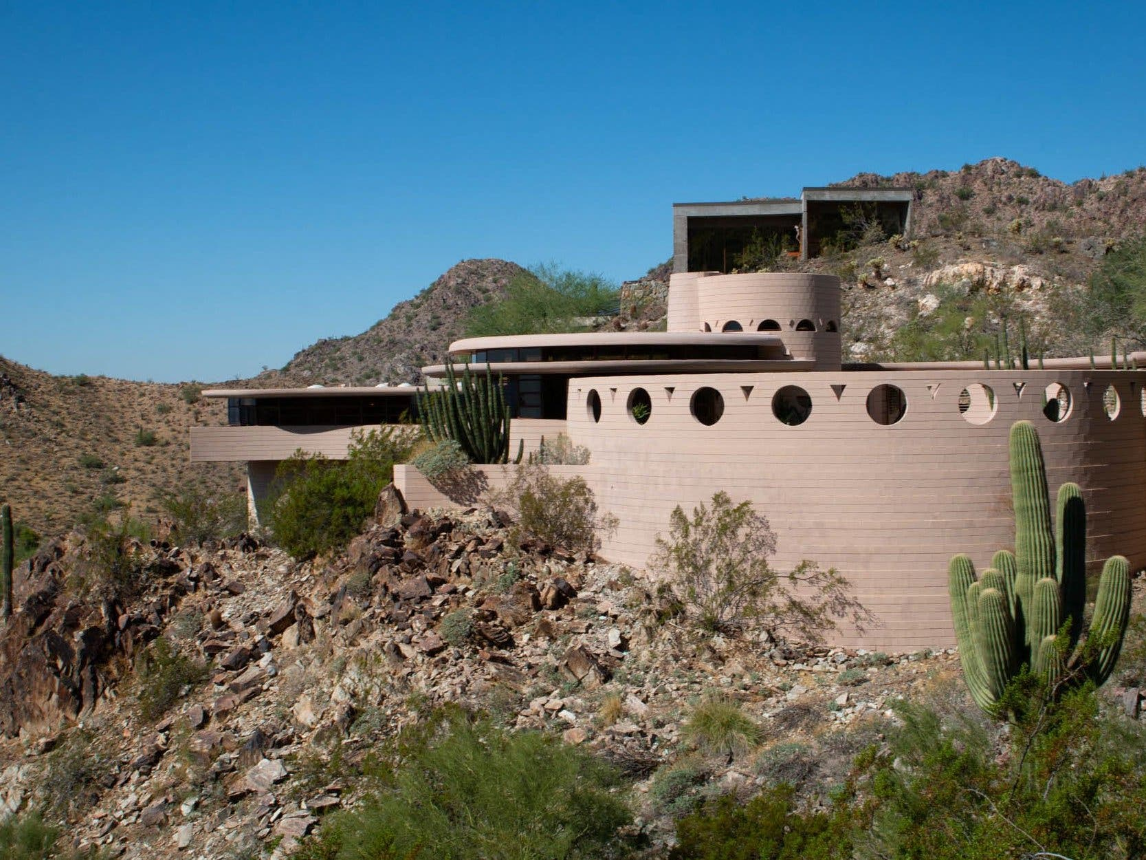 Phoenix's Frank Lloyd Wright House Sold At Auction ...