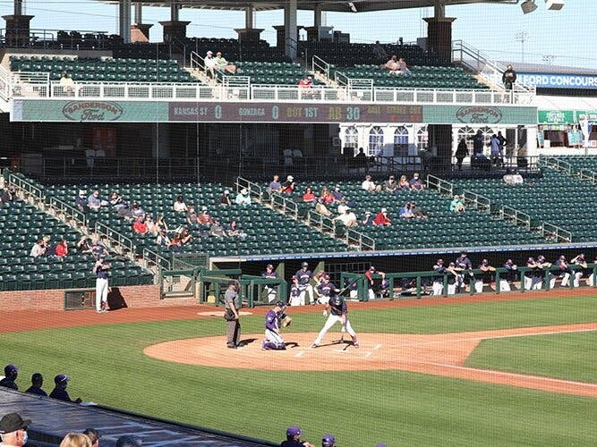 Surprise College Baseball Tournament Provides Sneak Preview Of Spring Training Protocols