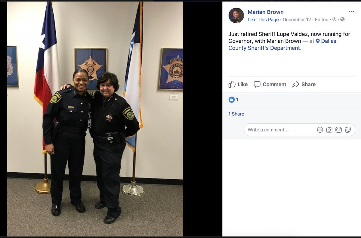 First Black Sheriff Appointed In Dallas County   Dallas, TX