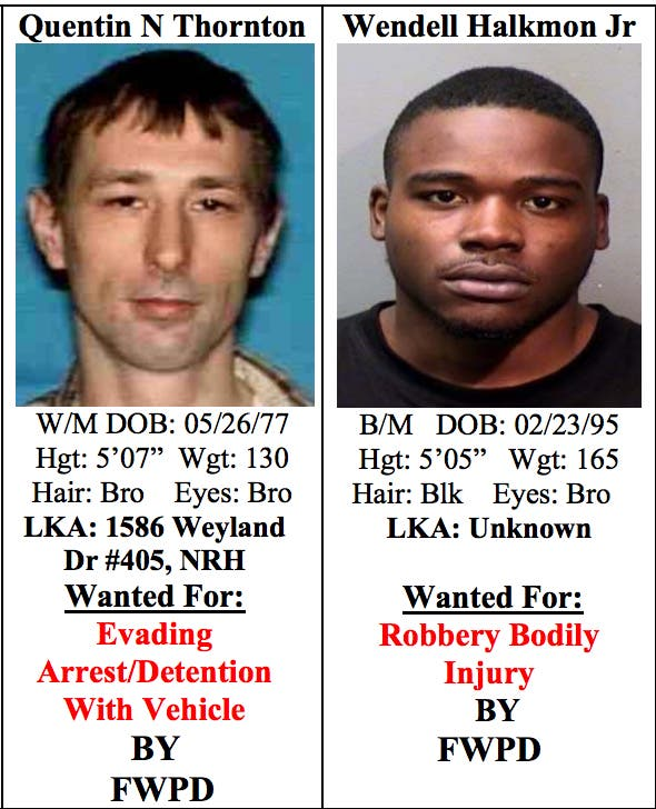 Tarrant Co  Most Wanted Fugitives: Week Of July 11 | Arlington, TX Patch