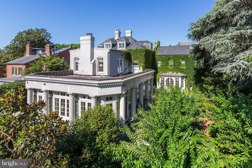 $18M Buys 118-Year-Old Mansion In Georgetown | Georgetown