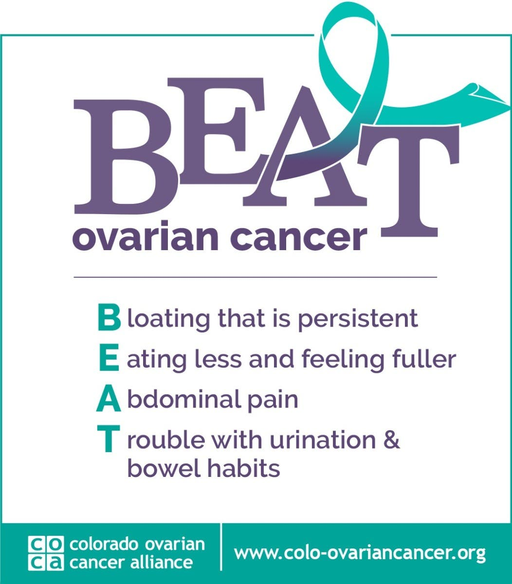 Sep 9 Wear Teal Day To Raise Awareness Of Ovarian Cancer Denver Co Patch
