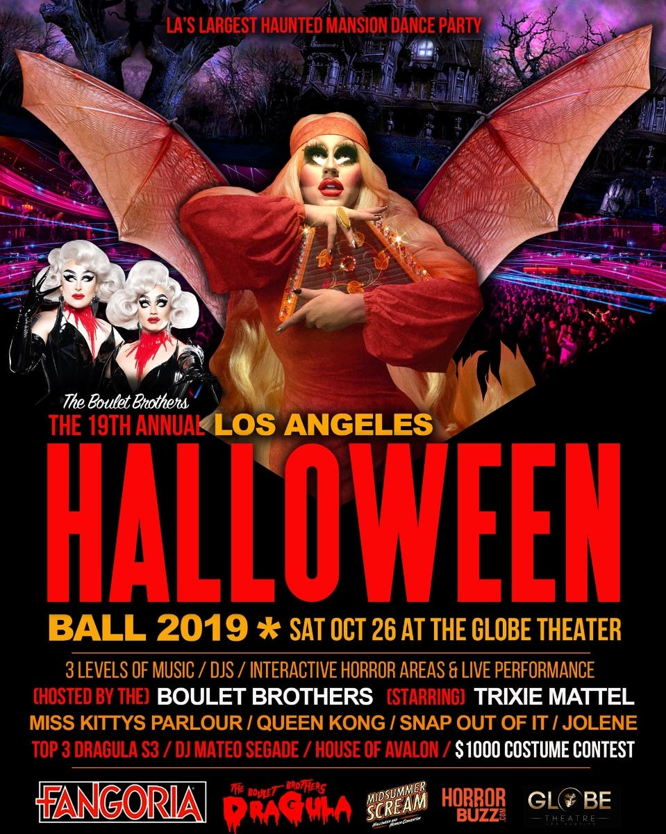 Halloween 2020 Theater Near Me Oct 26   The Boulet Brothers 19th Annual Los Angeles Halloween