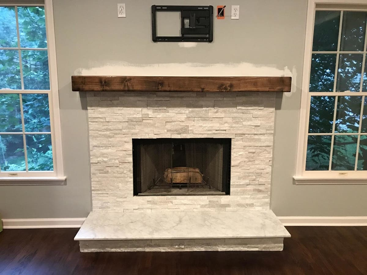 detailed look fd90b 1470f Wood fireplace mantels, wood mantels, Mantles, NJ NY LI CT ...