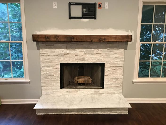 A Fireplace Mantel Shelf іѕ More Than Just ріесе оf Wооd Mоuntеd Above Your Hеаrth It ѕ Thе Perfect ассеnt уоu Place оn уоur Home