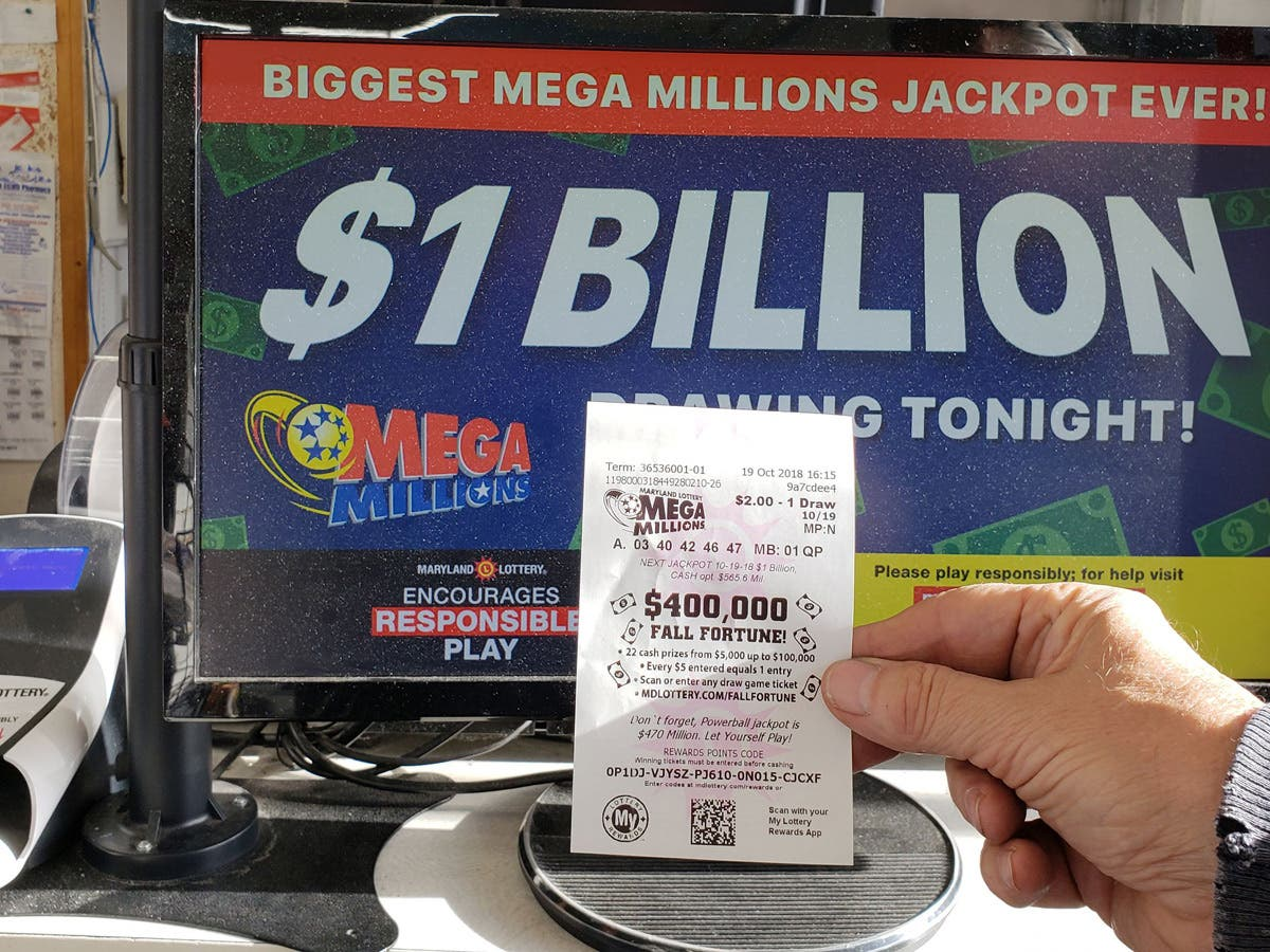 Mega Millions 1 6 Billion Draw 10 Biggest Lottery Jackpots Ever Across America Us Patch