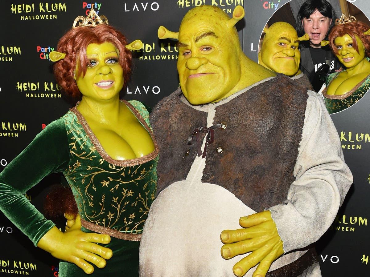 Heidi Klum Shrek