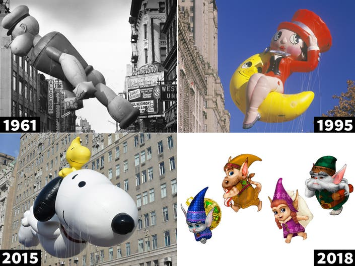Macys Hours Christmas Eve 2019.Macy S Thanksgiving Day Parade See Old And New Balloons