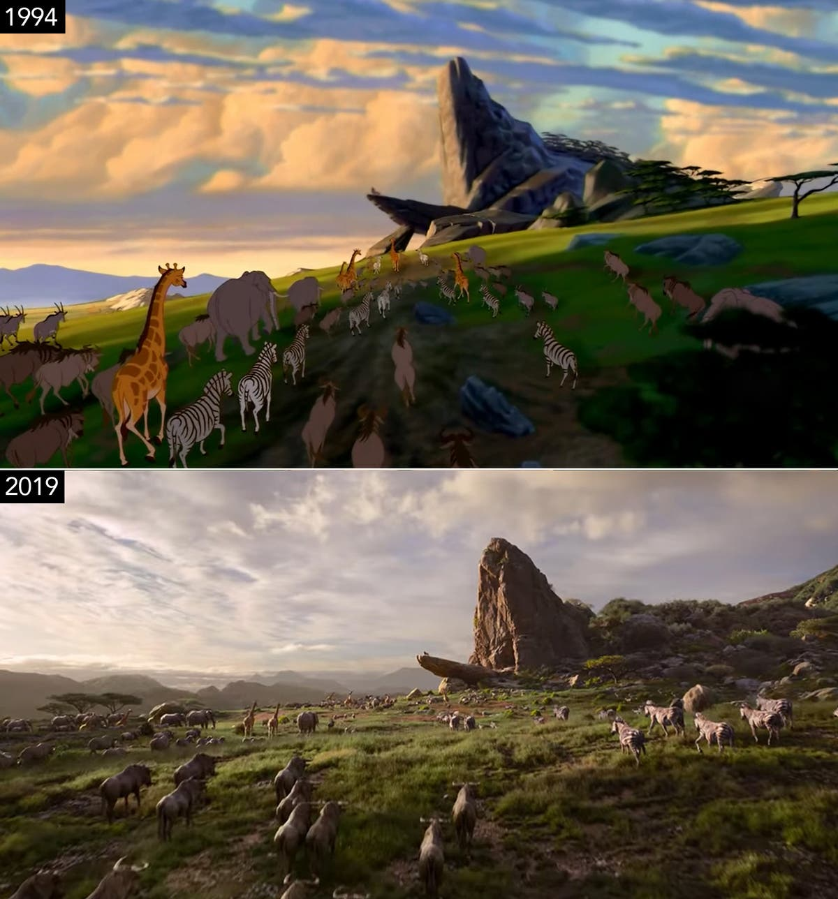 Watch Disneys The Lion King Live Action Movie Trailer