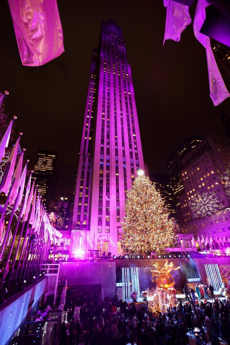 Photos: Rockefeller Center's Christmas Tree Lighting