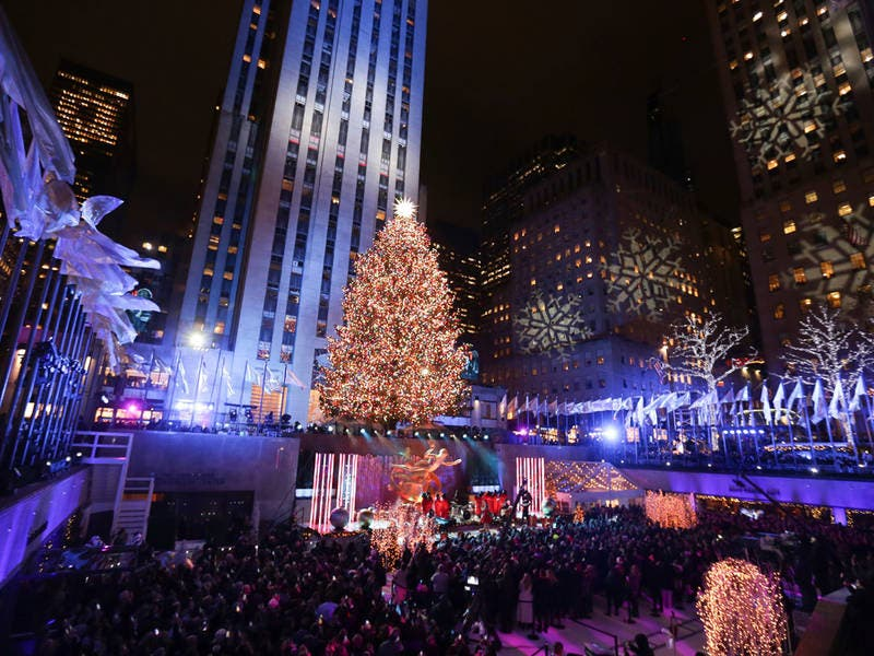 Photos: Rockefeller Center's Christmas Tree Lighting - Photos: Rockefeller Center's Christmas Tree Lighting New York City