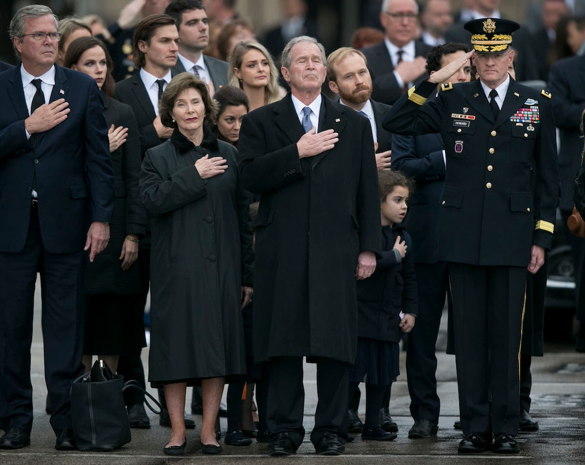 George H W Bush Funeral See All Memorials And Tributes Photos