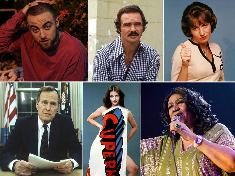 19 Celebrity Deaths In 2018: Photos Of The Famous Faces We