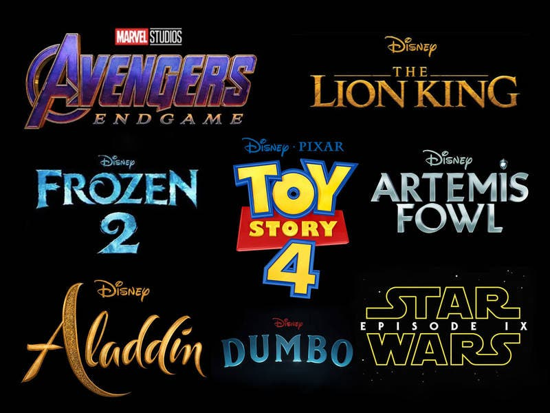 2019 Upcoming Movie Posters: 10 Disney Movies Coming Out In 2019: Marvel, Pixar, Star