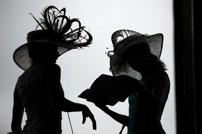 dddd0da0b2f52 Photos  The Best Kentucky Derby 2019 Hats And Fashion On Display ...