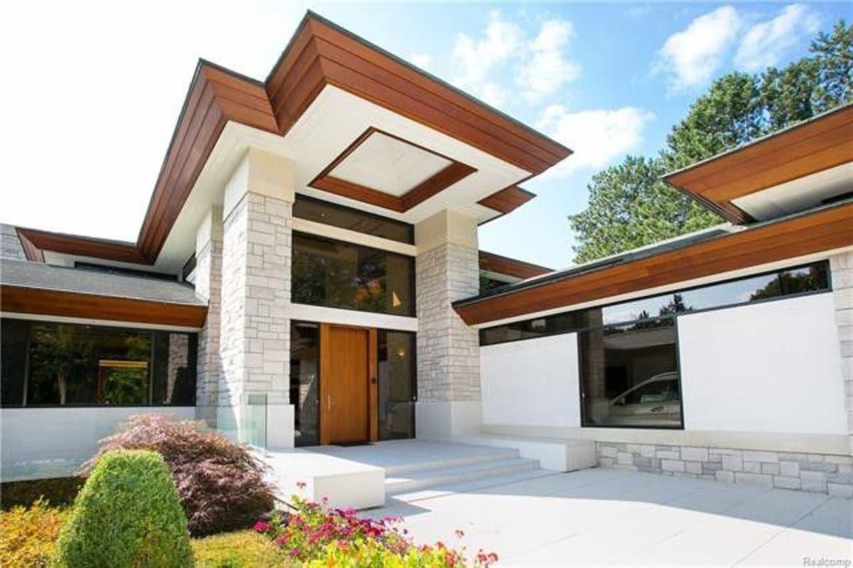 Frank Lloyd Wright Inspired Houses frank lloyd wright-inspired mansion asks $4.995 million