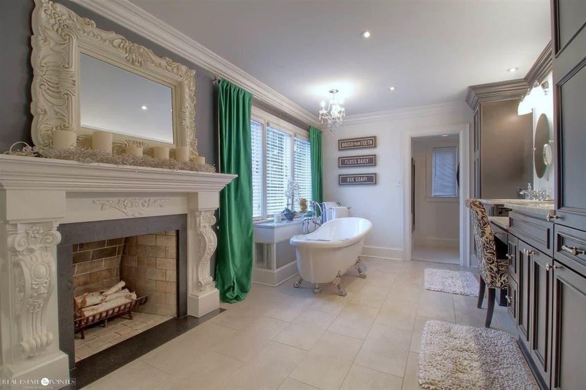 Tudor With Luxury Kitchen Fireplace Master Bath Asks 829 000