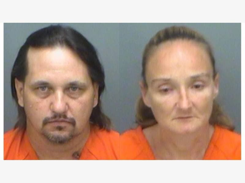 police  couple stole motorized shopping cart  drove it to