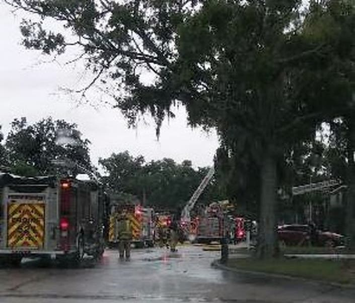 Winter Haven Apartment Fire Leaves 4 Families Homeless