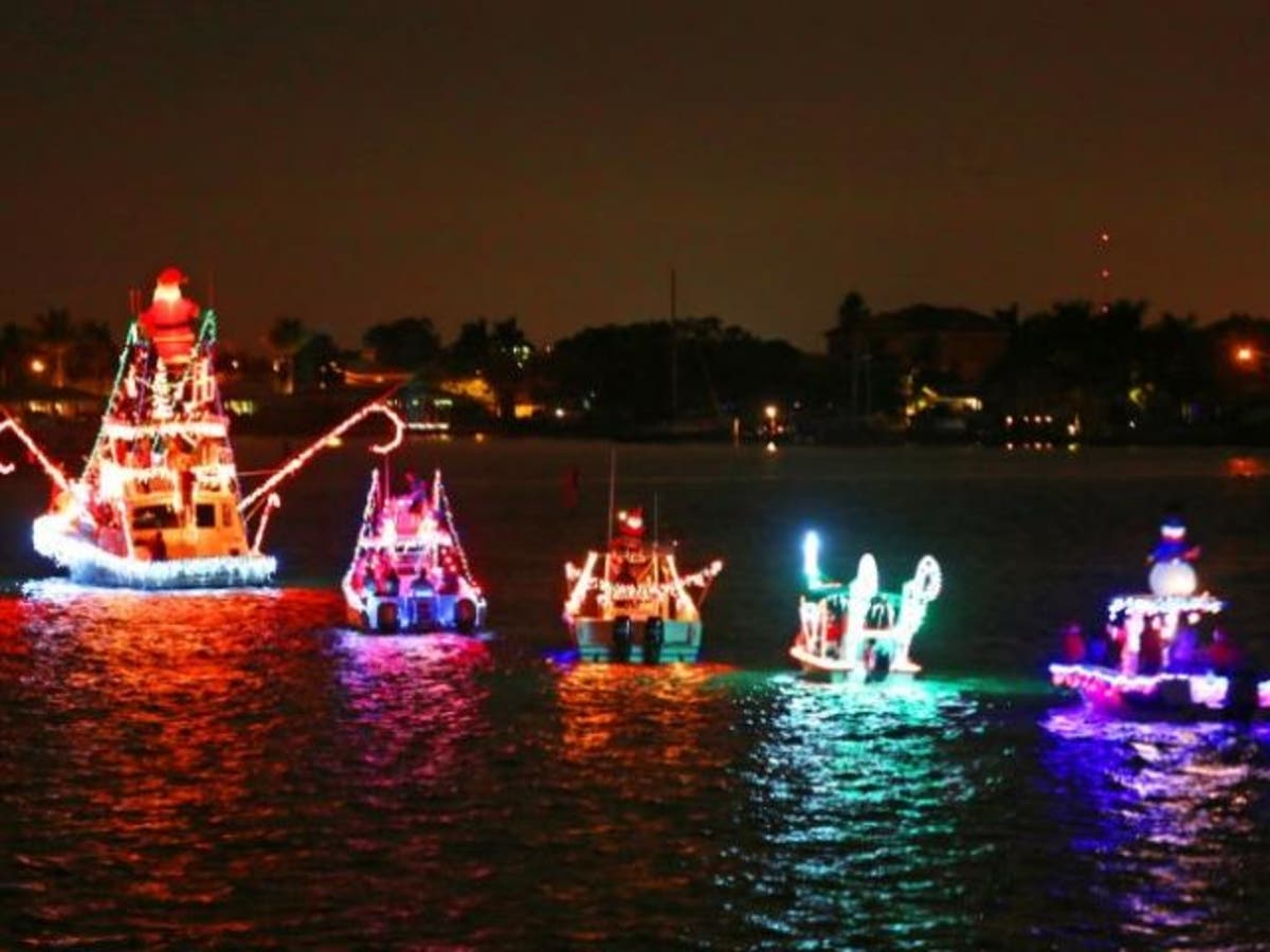 Christmas Boat Parade.Treasure Island Holiday Boat Parade Rescheduled For Sunday
