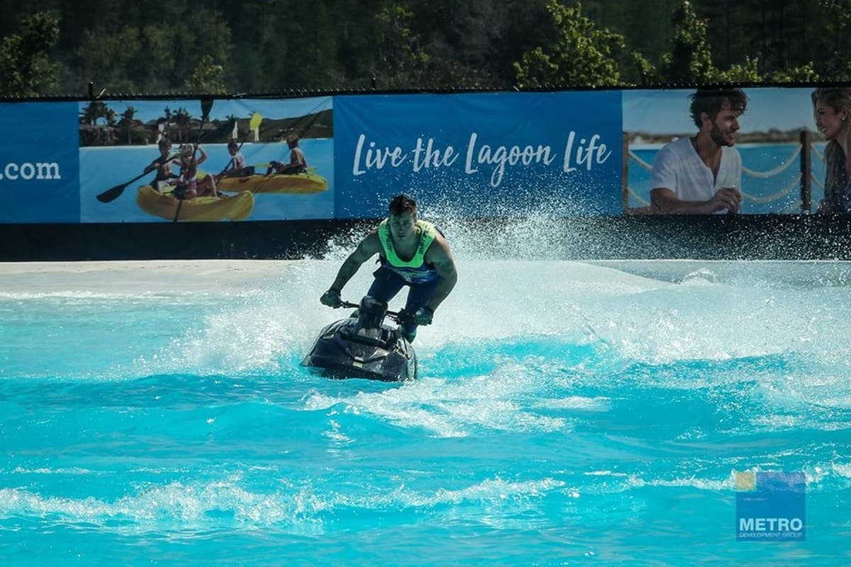 Nation's 1st Crystal Lagoon Opens In Wesley Chapel   Lutz