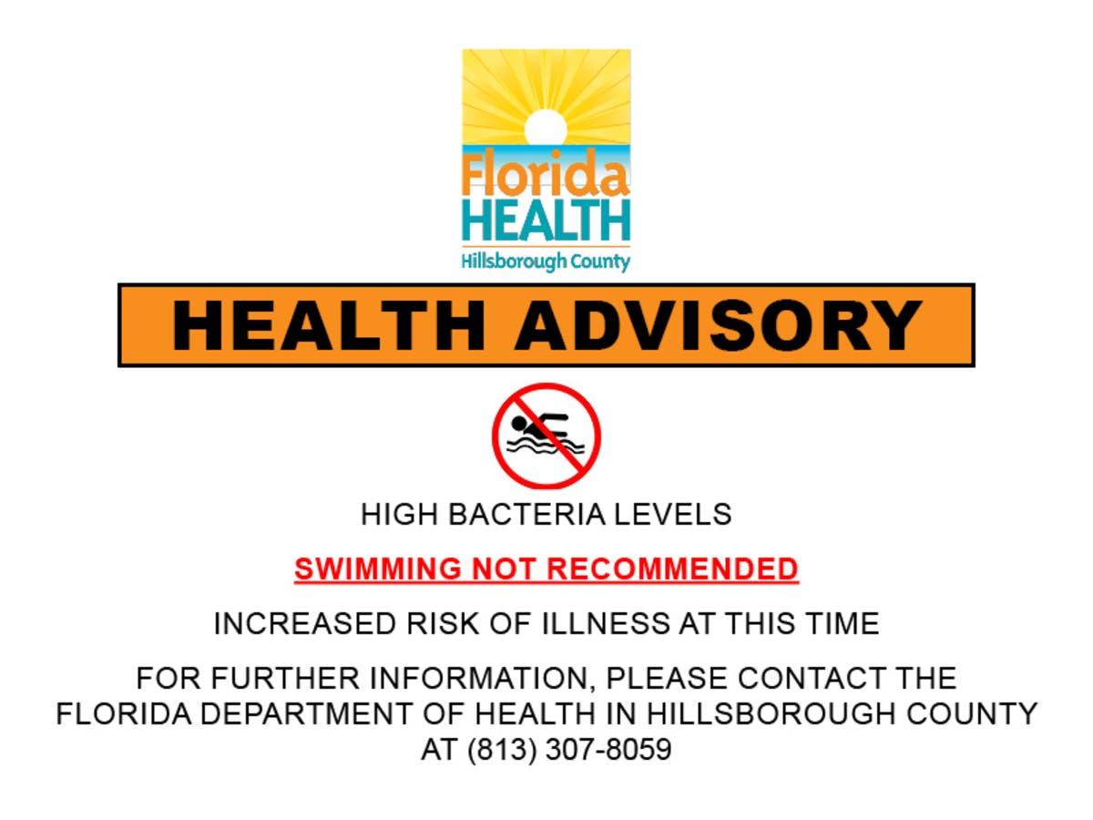 f53dbdbba1 Residents Warned Not To Swim At Picnic Island Beach | Tampa, FL Patch