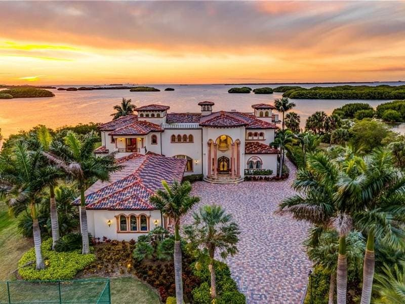 $18 Million Gibsonton Mansion Most Expensive Tampa Bay