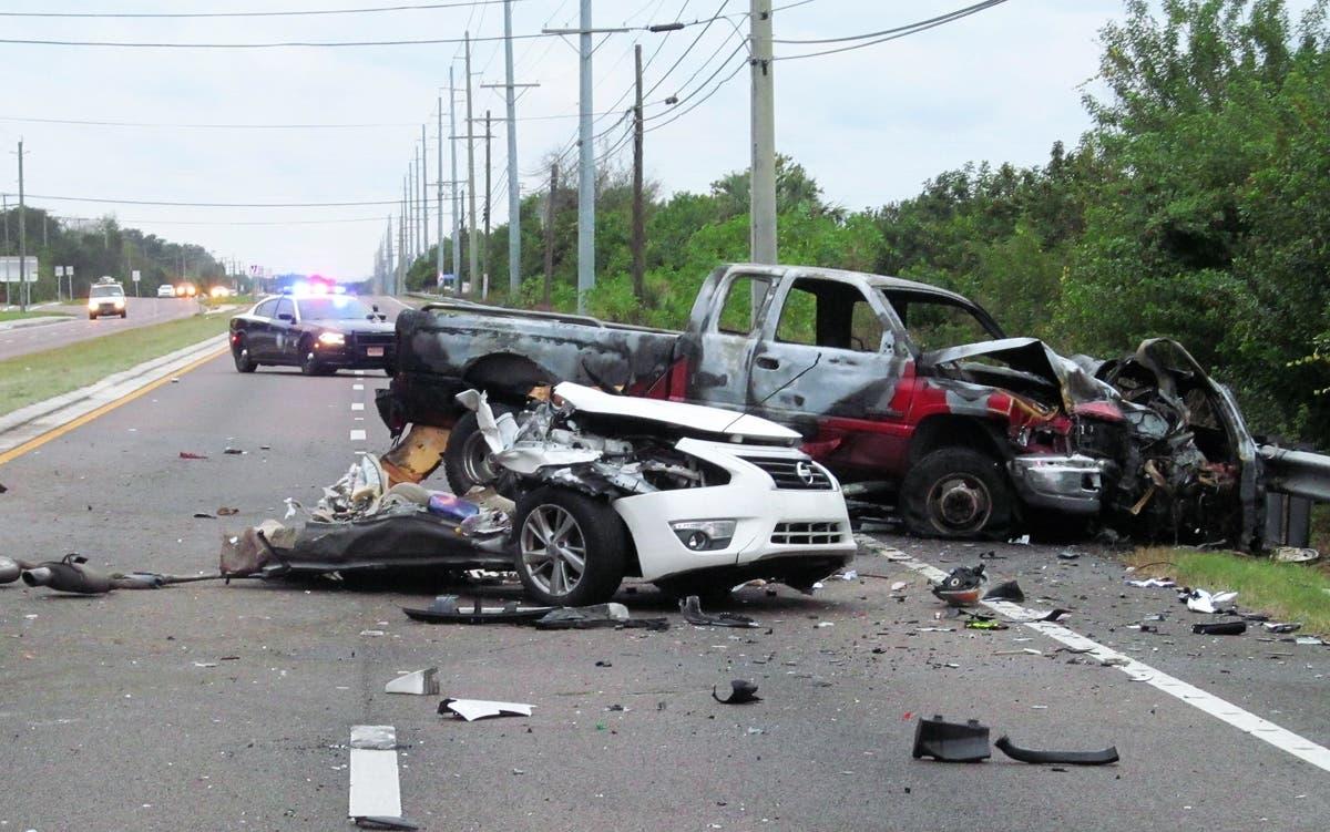 Man Killed When Car Cut In Half During Ruskin Crash