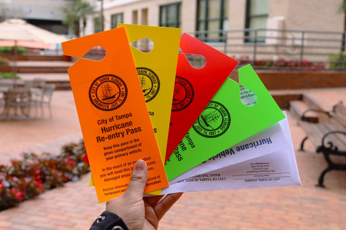 Don't Throw This Away: Tampa To Mail Out Re-Entry Passes