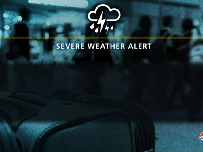 67 Flights Canceled At TIA As Severe Storms Move Through