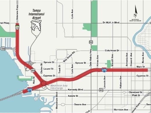 Public Workshop Set On I-275 Interchange Improvements Into